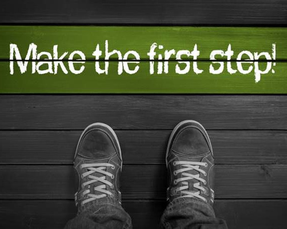I'll support you all the way, just take the first step